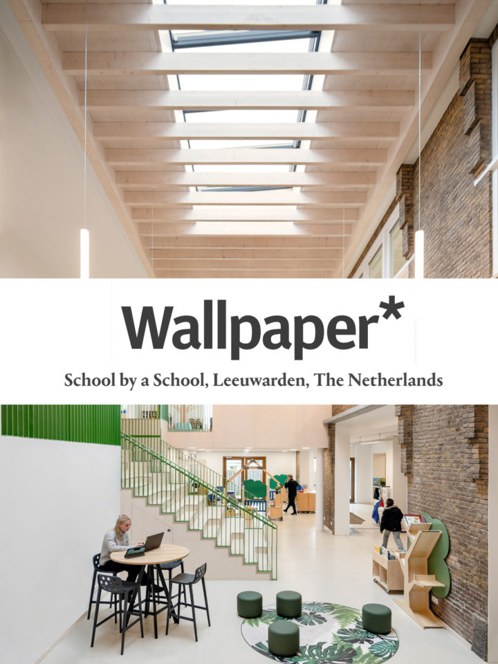 School by a School included in Wallpaper article on inspiring education architecture around the world