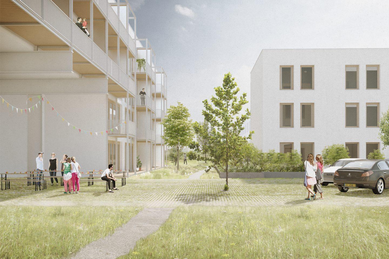 Garden with Housing